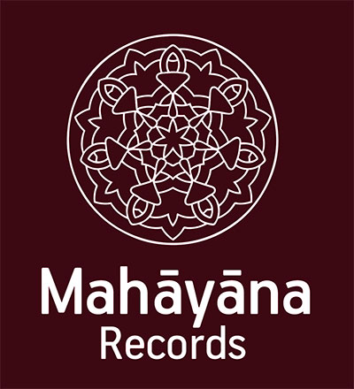Mahayana Records Logo - Granate Burgundy Colour